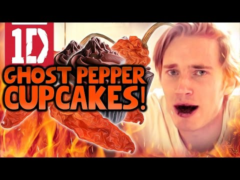 ONE DIRECTION GHOST PEPPER CHALLENGE CUPCAKES%21
