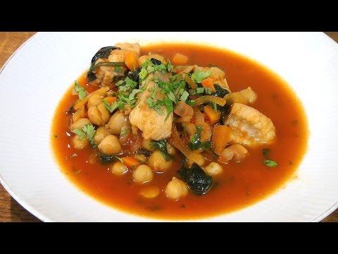Fischtopf mit Kichererbsen / Rezept / Video / Anleitung