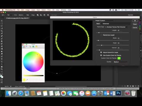 37-Adobe PhotoShop CC| Filter| flames