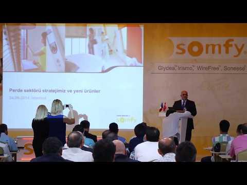 Somfy Perde Sistemleri Tanıtım Toplantısı