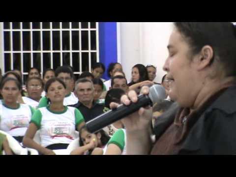 Assembleia de Deus em Rorainopolis. cantora Nazeré Ribeiro.