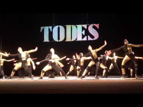 TODES Riga 27.03.2014. teens ''Ниндзя'' (видео)