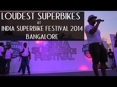Loudest Superbikes at India Superbike Festival 2014 Bangalore