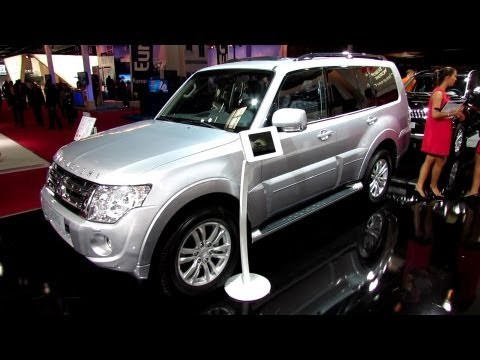 2012 mitsubishi pajero 30th anniversary edition exterior and