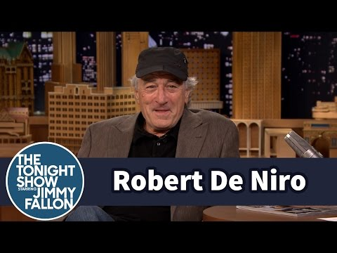 Robert De Niro Shows Off His Jimmy Fallon Impression