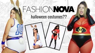 I Tried Fashion Nova Halloween Costumes So You Don't Have To