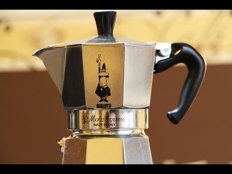 How to use a Bialetti Moka Express