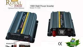 This video answers a technical question submitted to use about using a dc to ac power inverter with a 1.4 cu ft fridge freezer combo. This will be the first video explaining the many different DC to AC Power Inverters. The different uses and also covering technical questions.Please like this video if you found it helpful and take a look at the links below for more information.http://www.powerinverters.com/http://www.powerinverters.com/productshttp://www.powerinverters.com/page/frequently-asked-questions