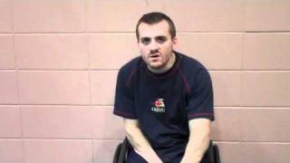 Interview with British Paralympian Andy Barrow for the 2010 WWRC