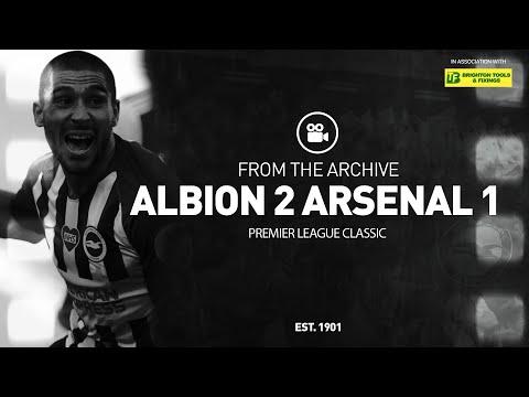 Classic PL Match: Albion 2 Arsenal 1