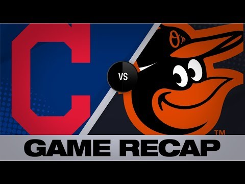 Video: O's score 13 in shutout in second straight game | Indians-Orioles Game Highlights 6/29/19