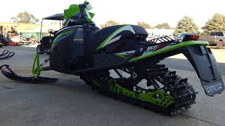 10. 2018 Arctic Cat® XF 8000 Cross Country Limited ES (137) Snowmobile For Sale near Milwaukee, WI