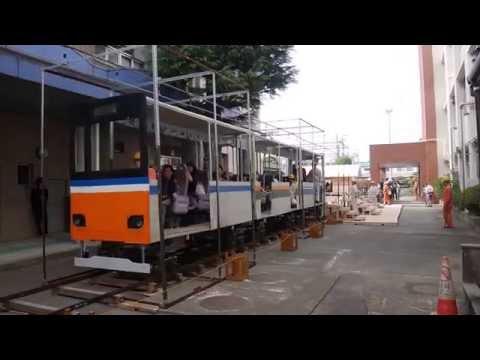 【埼玉】リアルに走る!高校生が作った電車が凄い!