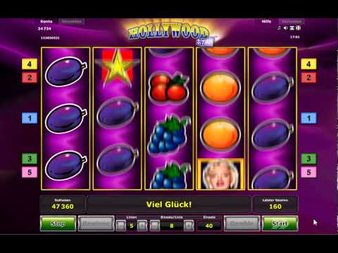 NOVOLINE HOLLYWOOD STAR SLOT
