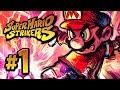 Super Mario Strikers Mushroom Cup 1 nintendo Gamecube G