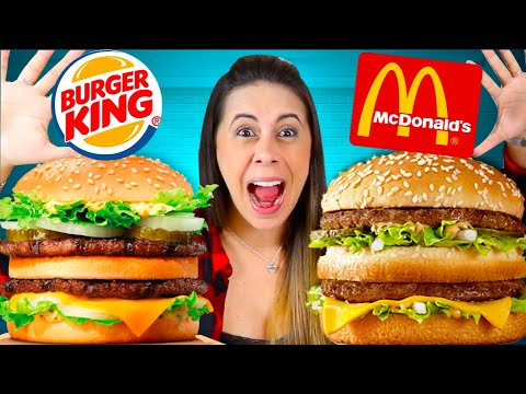 Big Mac X Big King X Big Bob : Qual é o melhor?