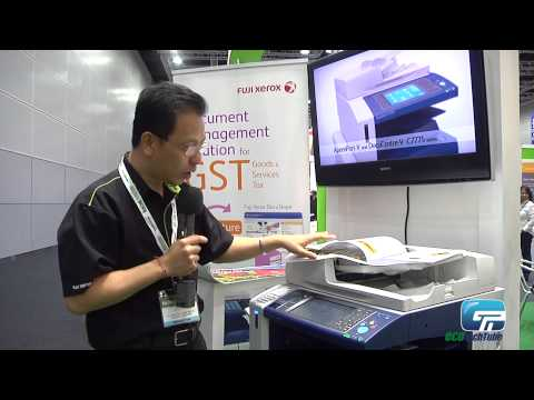 Fuji Xerox Asia Pacific: Green Multi Function Printer