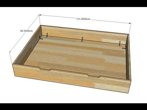 Comment construire un tiroir coulissant la r ponse est sur - Construire un meuble de rangement ...