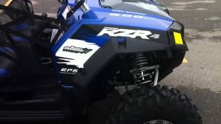 5. 2011 Polaris RZR 4 800 EPS Robby Gordon Edition