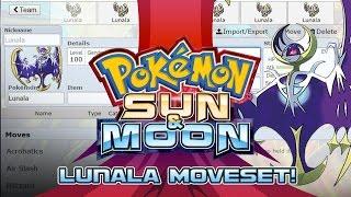 Lunala Moveset Guide! How to use Lunala! Pokemon Sun and Moon! by PokeaimMD