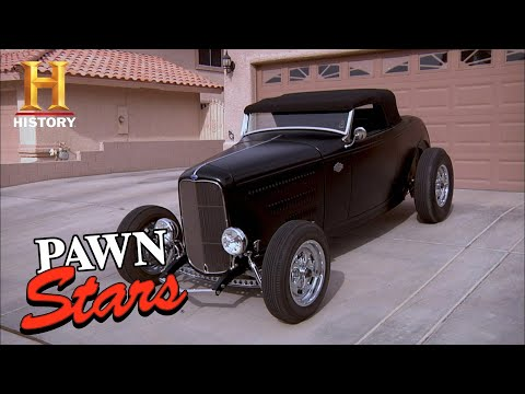 Pawn Stars: BIG $$$ for CLASSIC 1932 Ford Roadster (Season 7) | History