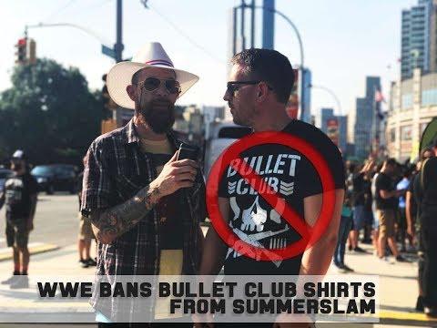 WWE BANS BULLET CLUB SHIRTS FROM SUMMERSLAM || BLVD BULLIES INVESTIGATE