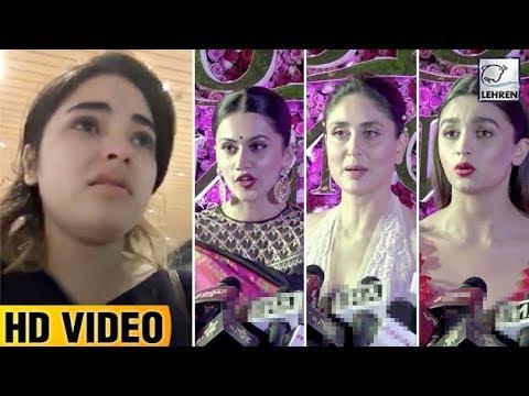 Video Bollywood REACTS To Zaira Wasim's Molestation Case | Kareena, Madhuri, Kareena | LehrenTV download in MP3, 3GP, MP4, WEBM, AVI, FLV January 2017