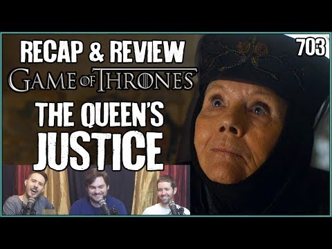 Game of Thrones 703: The Queen's Justice LIVE Reaction (видео)