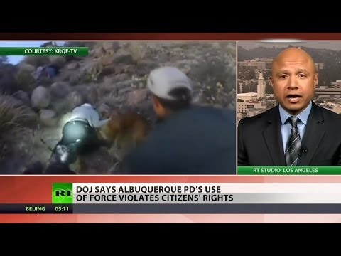 Albuquerque police routinely use excessive force - DOJ