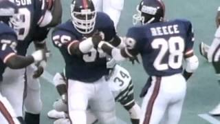 Highlights of New York Giants Hall of Fame linebacker Lawrence Taylor.