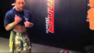 Joe Rogan's insane kicks
