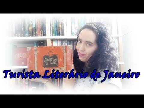 Unboxing Turista Literário de Janeiro (2018) | Um Livro e Só