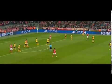 Arjen Robben amazing goal Bayern Munich vs Arsenal 1-0 2017 - ( Champions League ) 15/02/2017 HD