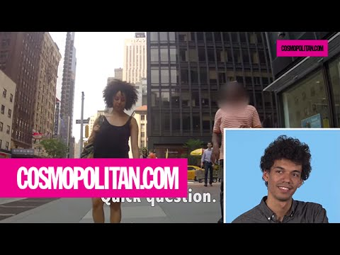Men React To Their Girlfriends Getting Catcalled | Cosmopolitan