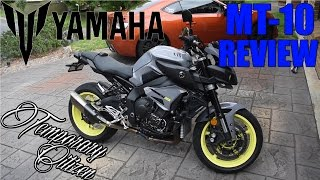 10. 2017 Yamaha FZ10/MT10 Review - Craziest Bike Ever?