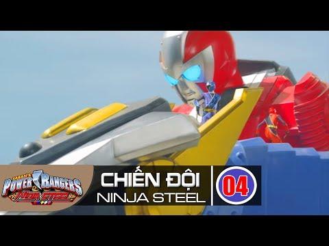 Siêu Nhân Chiến Đội Ninja Steel Tập 4 : Siêu Nhẫn Giả - Thời lượng: 23 phút.