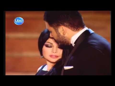"""رومانسية رامي عياش وهيفاء وهبي في """"أنا عم بحلم فيك"""""""