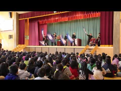 青空応援団 2015-03-27 仙台市立愛子小学校 ①