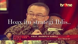 Video Selama ini ILC menjadi tempat NGIBUL nya ROKi Gulung, Kupas tuntas hoax bersama Prof.Rhenald Kasali. MP3, 3GP, MP4, WEBM, AVI, FLV April 2019