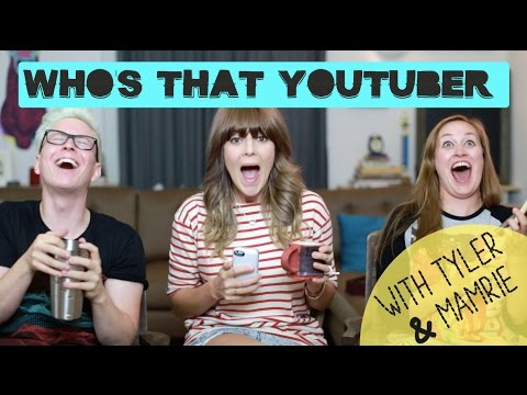 WHO%27S THAT YOUTUBER W%2F TYLER OAKLEY %26 MAMRIE HART %2F%2F Grace Helbig