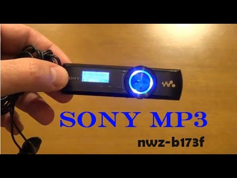 Sony mp3 NWZ-B173F (English review)