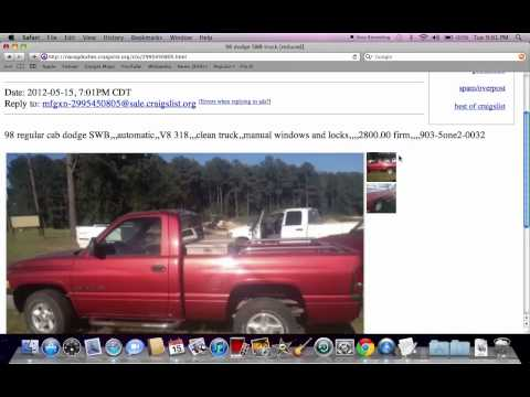 Craigslist Trucks You Like Auto