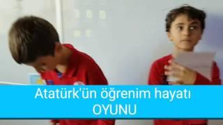 Atatürk'ün Öğrenim Hayatı Oyunu