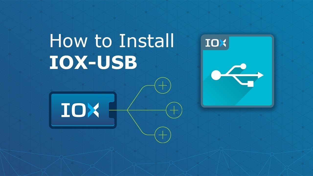 A video showing how IOX-USB works.