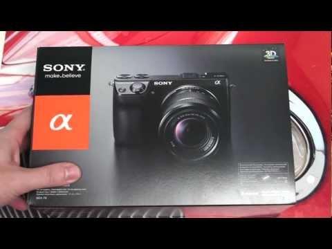 Sony NEX-7 Unboxing