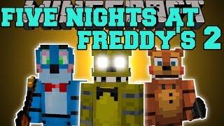 Minecraft: FIVE NIGHTS AT FREDDY'S 2 MOD (JUMPSCARES, GOLDEN FREDDY,&FREDDY'S HEAD!) Mod Showcase