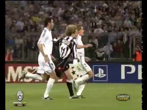 14/05/2003- champions league - juventus-real madrid 3-1! juve siderale!