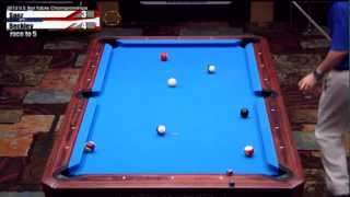 2012 CSI U.S. Bar Table Championships 8 Ball Division Finals: Beckley Vs Saez Part 2