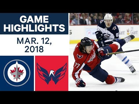 Video: NHL Game Highlights | Jets vs. Capitals- Mar. 12, 2018