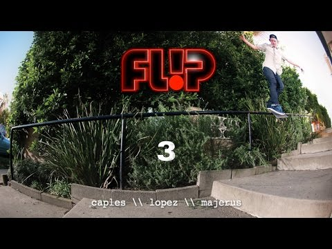 flip - Along with Alec Majerus, who just recently joined Louie Lopez and Curren Caples in the pro ranks, the trio filmed together for Flip's latest video offering simply titled 3. Directed and filmed...